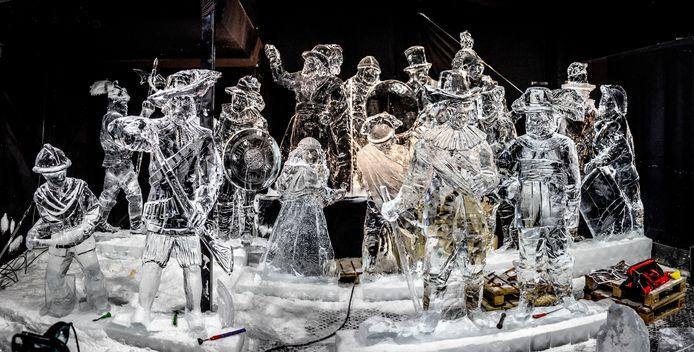 Liefhebbers van ijsbeelden moeten een jaar geduld hebben. Het festival in Zwolle gaat in verband met corona niet door.