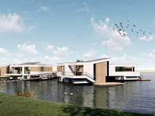 Bouwverkeer op het RijnWaalpad: bouw van 27 drijvende woningen Lentse Plas begint augustus
