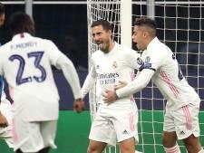 But pour Hazard, soirée tranquille pour le Real à l'Inter