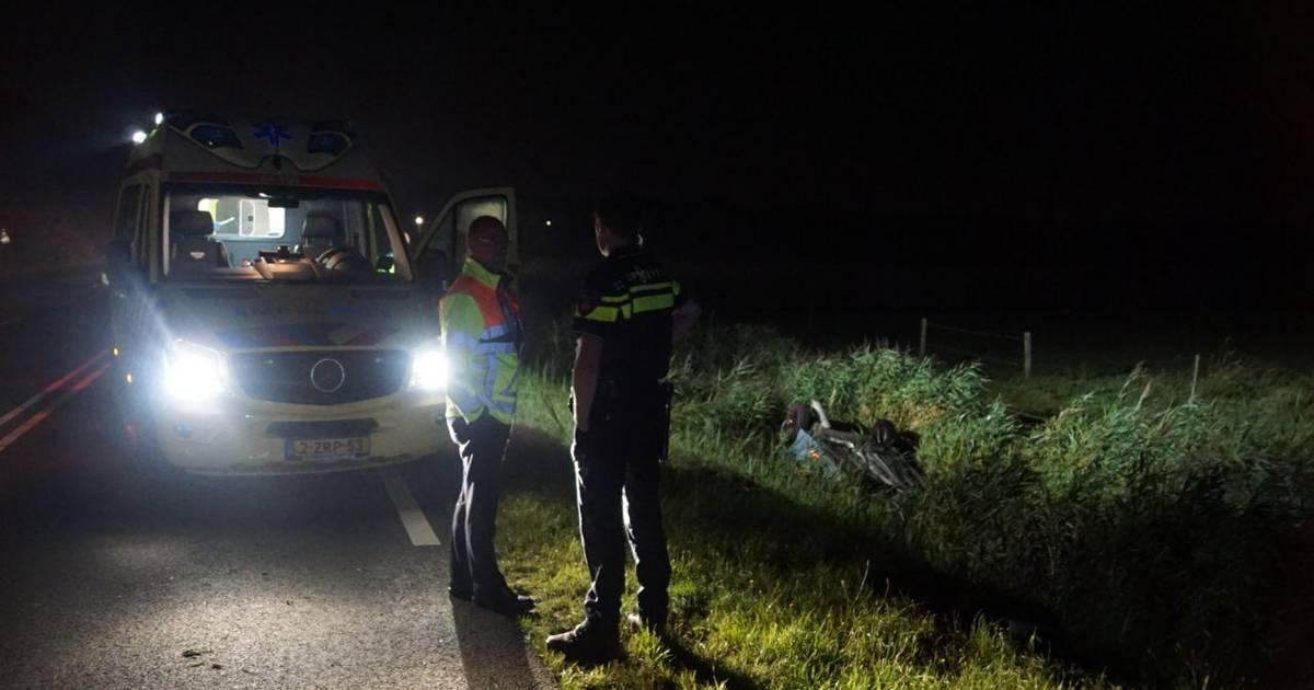 Drie gewonden bij ongeluk Wanneperveen.
