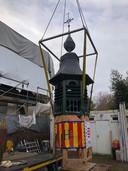 De toren van de Strokapel werd volledig gerestaureerd.