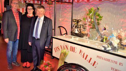 Ijs Van De Walle viert zeventigste verjaardag