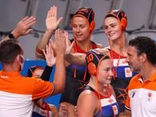 Waterpolosters schrijven geschiedenis met grootste olympische uitslag ooit