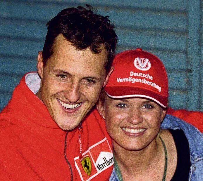 Michael en Corinna in 2000