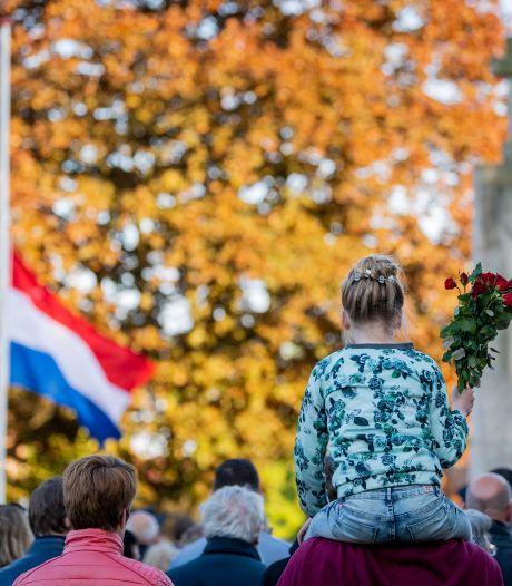 Weer beperkte dodenherdenking, burgemeester Gerritsen spreekt via AAVisie