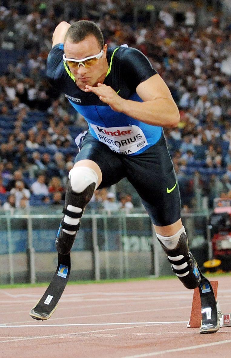 Oscar Pistorius Beeld AFP