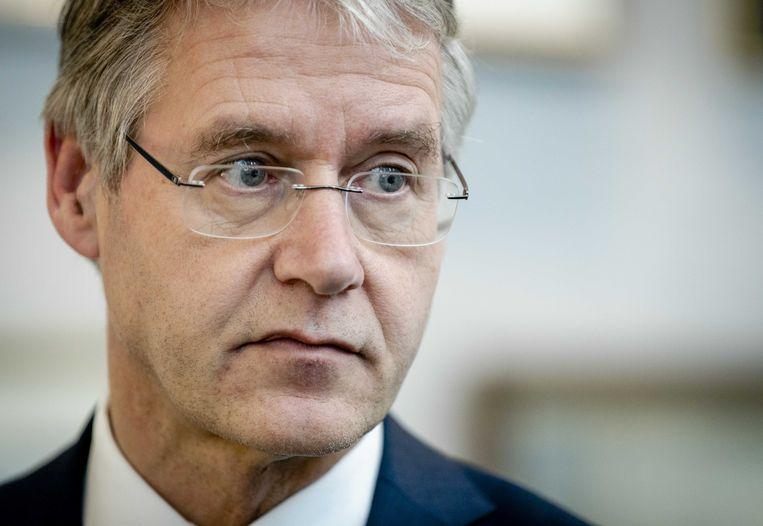 Minister Arie Slob (basis- en voortgezet onderwijs en media). Beeld ANP