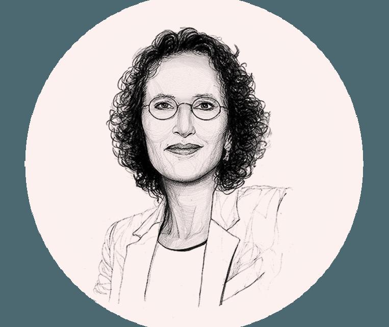 Karin Spaink. Beeld Artur Krynicki