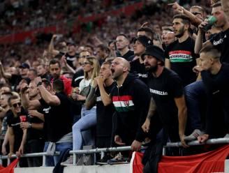 Hongaarse fans sloegen andermaal mal figuur. Maar of ze daarmee inzitten?