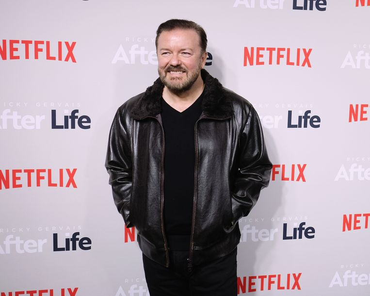 Ricky Gervais. Beeld Getty Images