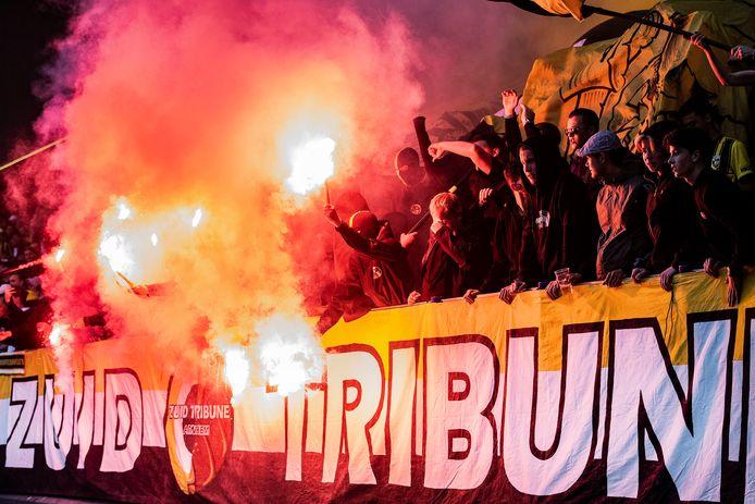 Vitesse verwacht maximaal 500 supporters van Stade Rennais. In GelreDome zal de Zuid Tribune afgeladen zijn met aanhangers van de Arnhemse club.