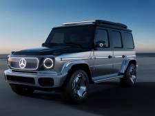 EQG Concept: Mercedes maakt in München echt álles elektrisch