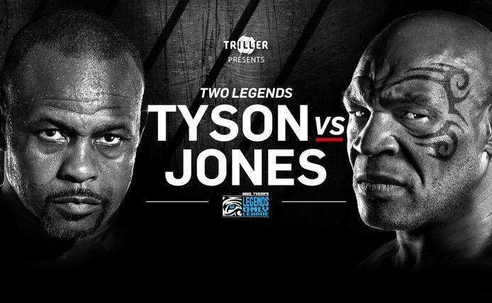 Mike Tyson vs. Roy Jones junior.