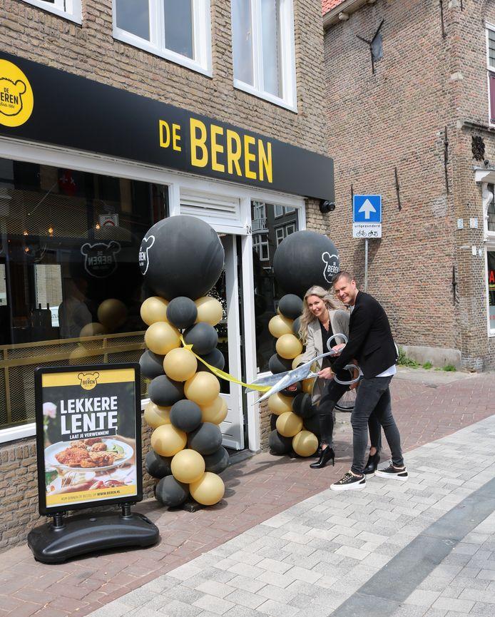 Bezorgrestaurant De Beren is maandag 3 mei geopend op de Haagdijk in Breda.