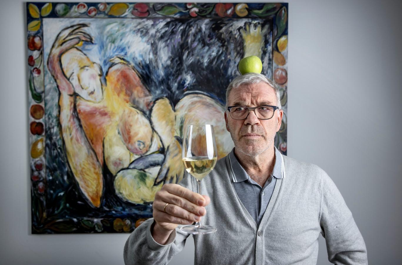 Wijnkenner Harold Hamersma.