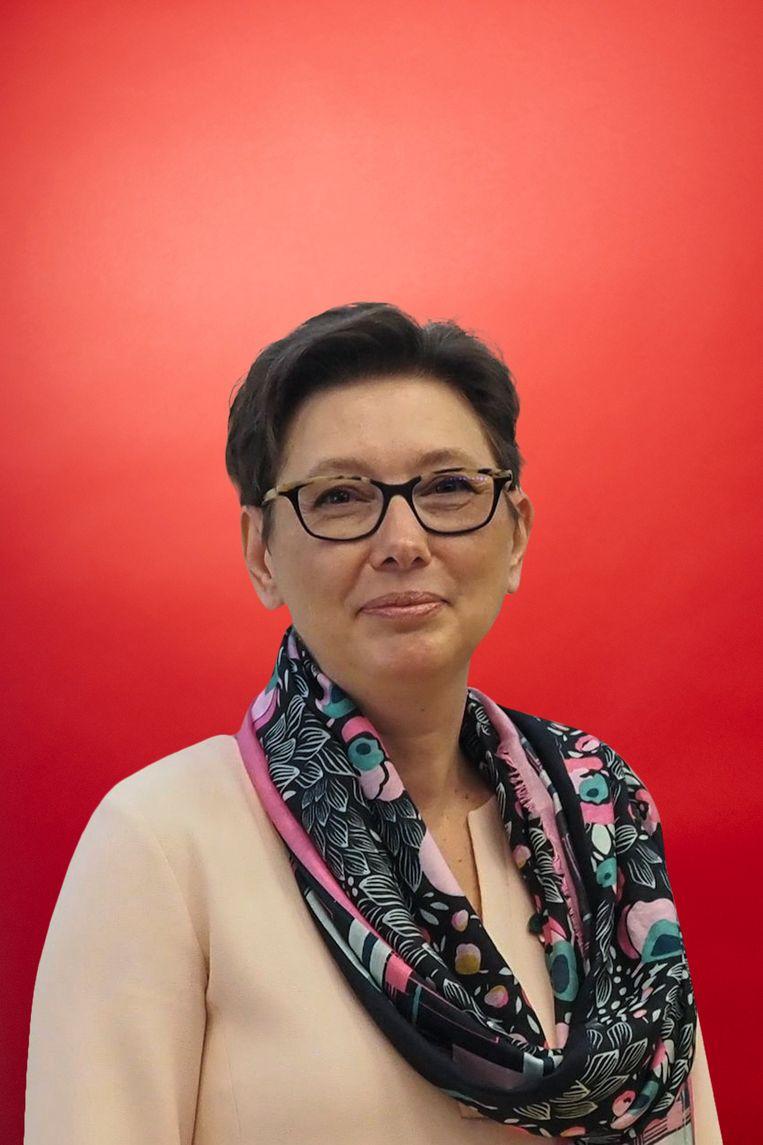 Nee, vindt prof. dr. Anne-Marie De Cock, diensthoofd Geriatrie in het Ziekenhuisnetwerk Antwerpen (ZNA). Of toch zeker niet als vervanging van het fysieke consult. Beeld RV