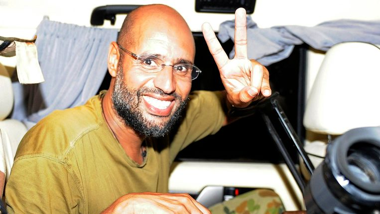 Saif al-Islam Kaddafi. Beeld Reuters