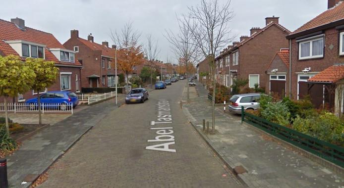 De Abel Tasmanstraat in Roosendaal.