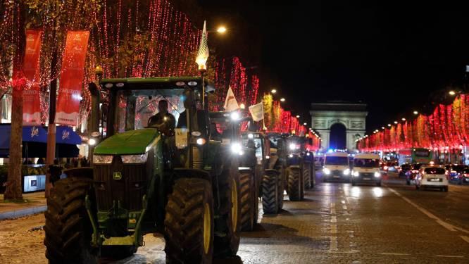 Delen van Parijs vallen even zonder stroom