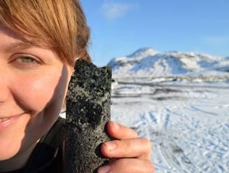 CO2 omgezet in steen tijdens baanbrekend onderzoek naar klimaatverandering
