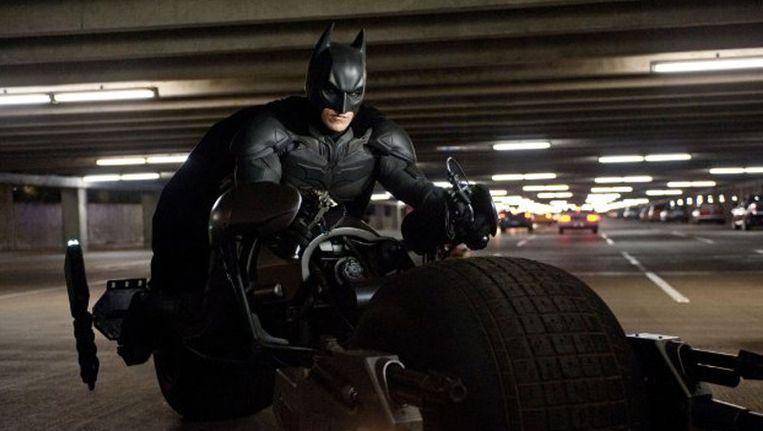 Scene uit 'The Dark Knight Rises' Beeld