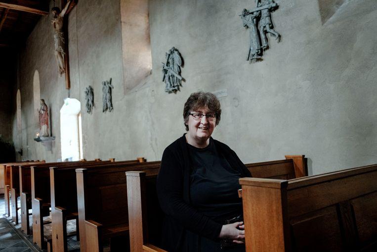Erica Schruer krijgt als alles goed gaat in november een kloosternaam en wordt ze 'ingekleed'. Beeld Merlin Daleman