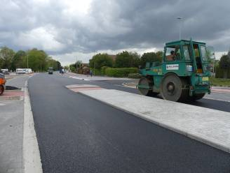 Werken Leernsesteenweg (N466) bijna afgerond