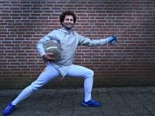 Cuijkse schermtopper Béla Roesink blijft hopen op een Nederlandse titel