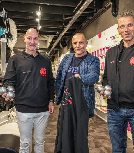 Pikante sponsor voor jeu-de-boulesclub uit Zwolle: 'Willen van stoffig imago af'