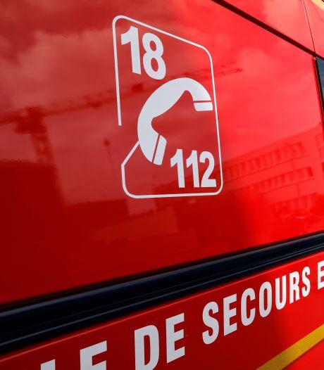 Man overlijdt bij verkeersongeluk met brandweerwagen in Frankrijk
