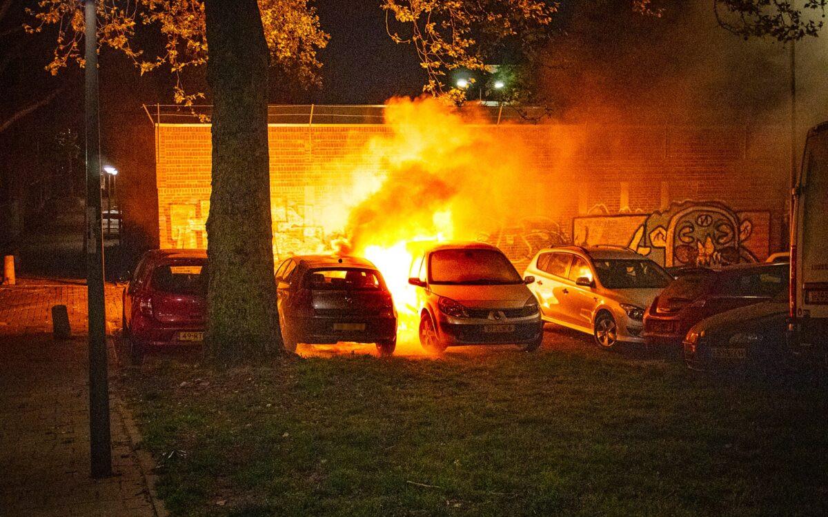 Een autobrand.