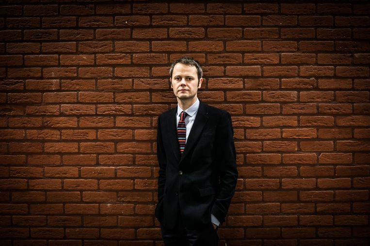Grondwetspecialist Stefan Sottiaux (KU Leuven) Beeld Bas Bogaerts