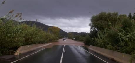 Noodweer treft Mallorca voor tweede keer in korte tijd