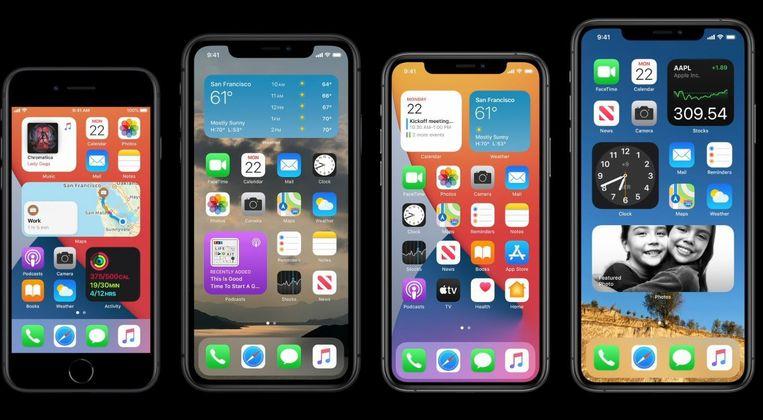 iOS14 Beeld Apple