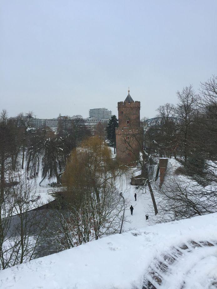 Het Kronenburgerpark in Nijmegen.