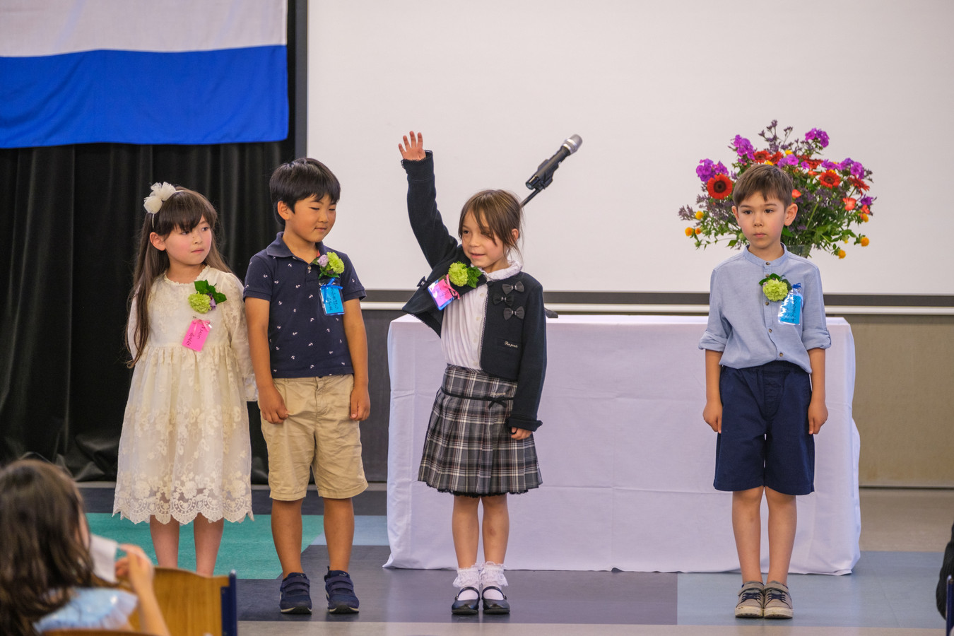 Kinderen op de Japanse school in Tilburg