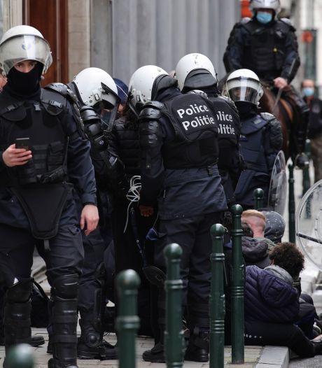 """Manifestation contre la """"justice de classe"""" à Bruxelles: 11 plaintes au Comité P, une enquête interne ouverte"""