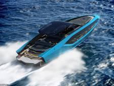 V12-motoren en 4000 pk: dit is de Lamborghini onder de speedboten