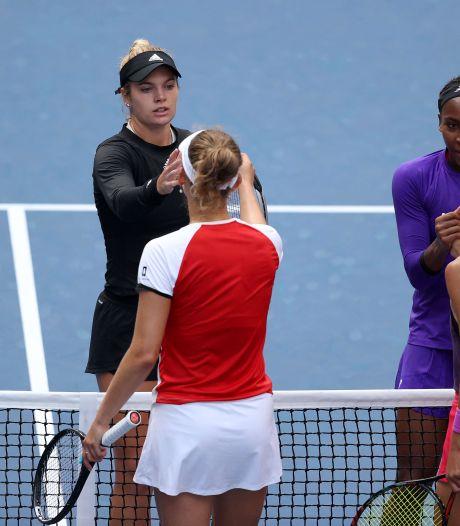 US Open terminé pour Elise Mertens, éliminée en quarts de finale en double