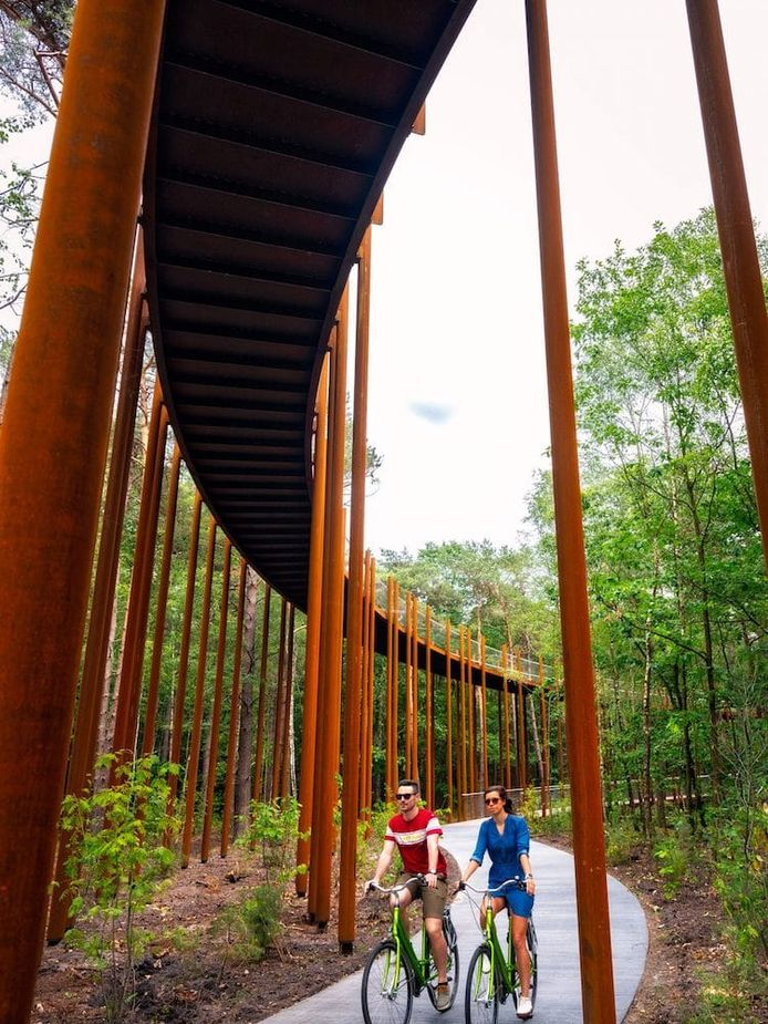 Ce projet unique en son genre offre des vues imprenables aux amateurs de promenade.
