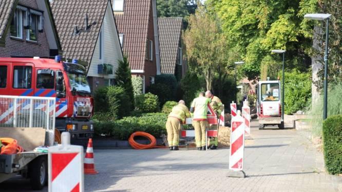 Gaslek in Apeldoornse woonwijk door aanleg glasvezelkabel