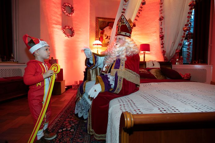 Sinterklaas in het Helmondse kasteel