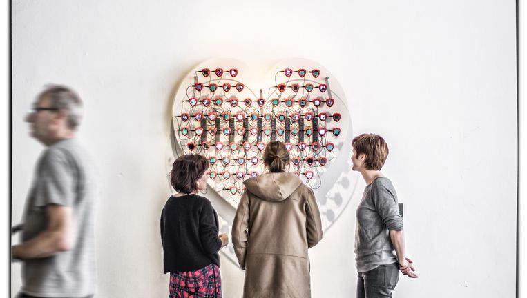 De expo 'Design My Privacy'. Beeld Debby Termonia