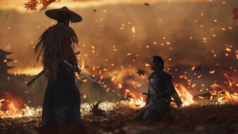 Als Akira Kurosawa in 1953 in kleur had kunnen schieten, had zijn Seven Samurai er zo kunnen hebben uitgezien. Beeld Sony