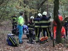 Bestuurder quad gewond door rit in het bos bij Zeeland
