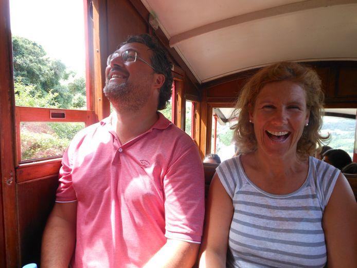 Thomas en Yvonne.