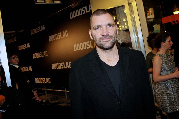 Theo Maassen bij de première van de film Doodslag in het Parktheater in Eindhoven.  Beeld Kippa Levin de Boer/ANP