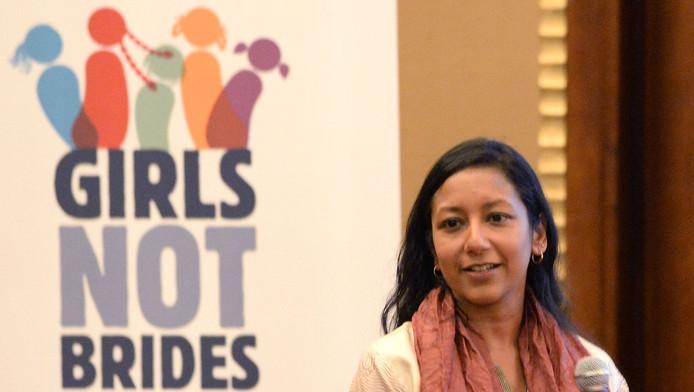 De wereldwijde organisatie 'Girls Not Brides' verzet zich tegen kindhuwelijken. (archieffoto)