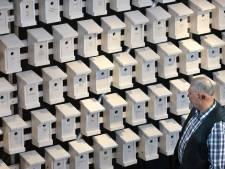 298 huisjes in Lutherse Kerk voor 298 MH17-doden