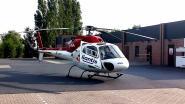 MUG-heli landt op parking nadat bejaarde fietser zwaar valt